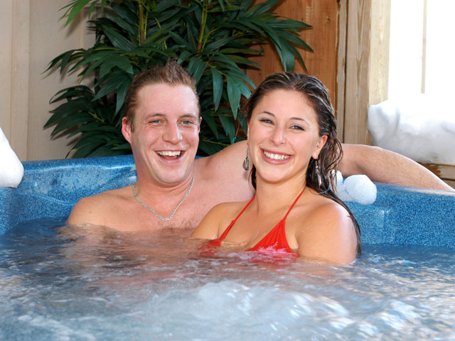 Hot Tub Couple
